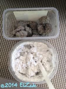 Cellulose humide sans et avec couleur